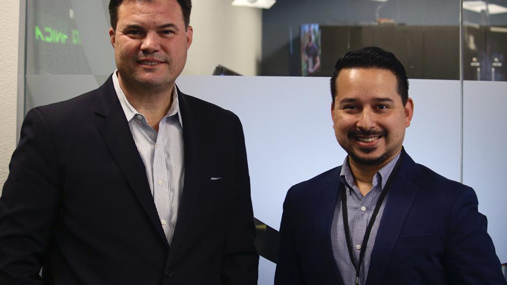 Jaime Molera (left) and Roy Herrera.