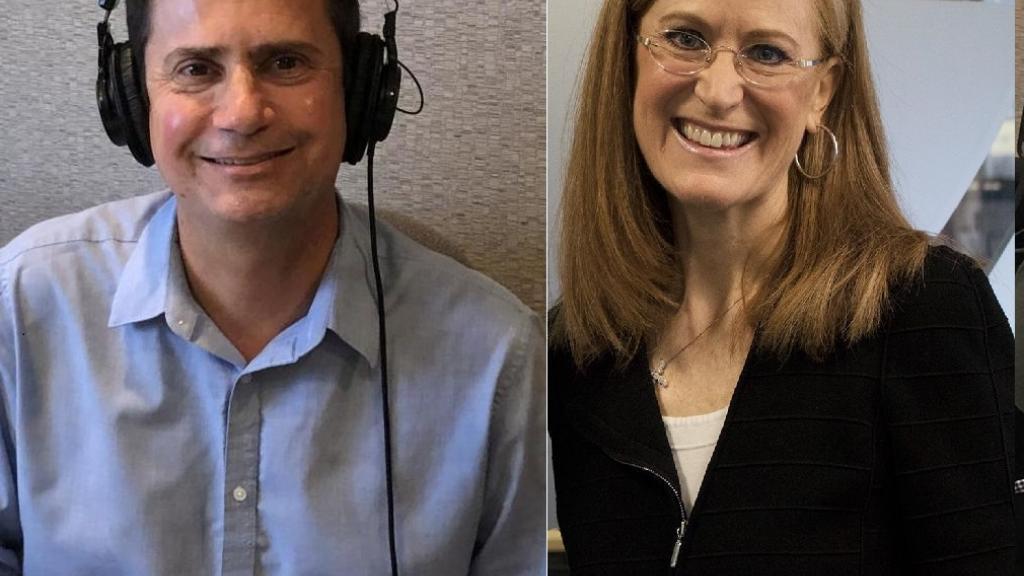 David Lujan and Christine Jones