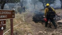 Guadalupe Fire On Arizona-New Mexico Border 30 Percent Contained