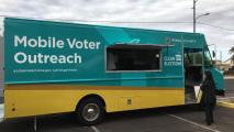 Pinal County Unveils Mobile Voter-Outreach Van