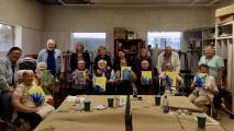 Participants in Phoenix Center for the Arts' With Art in Mind program