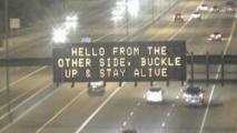 Q&AZ: Who Does Those Funny Highway Electronic Signs?