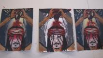 Printmaking project pairs Native artists, ASU graduate students