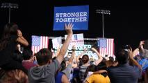 More Than 10,000 Attend Hillary Clinton Rally At ASU