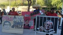 Sheriff Joe Arpaio's Contempt Hearings Draw Dedicated Courtroom Observers
