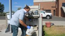 In Colorado, Stool A Tool In The Fight Against Coronavirus