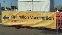 Vaccination Site At Phoenix Municipal Stadium Moving Indoors