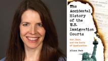 Author Details History Of U.S. Immigration Courts In New Book