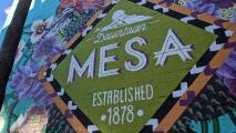 A mural in downtown Mesa.
