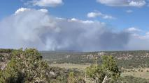 Wildfire Threatens Communities On Navajo Nation