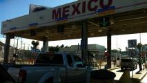 Entering Mexico at the San Ysidro garita into Tijuana.