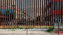 Questions Raised As Old Sections Of Border Barrier Found In Mexico