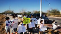 Sonoran Families March To Demand School Reopening