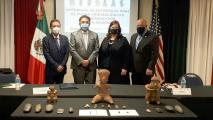 Arizona Returns 280 Archaeological Artifacts To Mexico