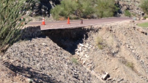 South Mountain Road Closed Due To Storm Damage