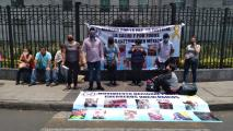 Mexico Cancer Patients Families Protest For Support During Pandemic