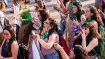 Thousands protested in Mexico City to fight for women's rights