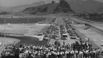 1968 opening of I-10 near the Broadway Curve