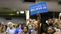 Bernie Sanders Saturday Rally Brings Thousands To Arizona State Fairgrounds