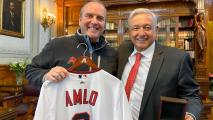 D-Backs Visit Mexico City, Meet With Mexican President