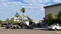 Demolition of Paradise Valley Mall