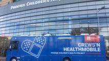 Phoenix Children's Hospital homeless youth mobile clinic