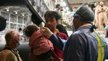 Afghan refugees arrive in Mexico