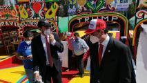 Republicans, Democrats End Campaigning In Mexico