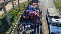 Mexico Tightens Migration Rules As Caravan Departs From Honduras
