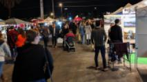 Crowds Return To Roosevelt Row On First Friday In April