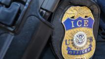 U.S. Immigration and Customs Enforcement badge