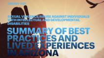 SUMMARY OF BEST PRACTICES AND LIVED EXPERIENCES IN ARIZONA