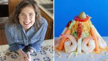 Jackie Alpers shrimp Topopo salad