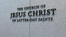 LDS Mormon church sign