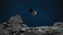 OSIRIS-REx Holds Bits Of Previously Visited Asteroid