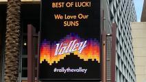 Phoenix Convention Center Suns marquee