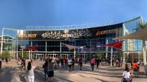 Phoenix Suns Arena exterior NBA Finals 2021