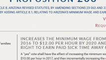 Proponents Fight Back Against Campaign To Defeat Arizona Proposition 206