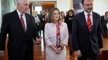 Rex Tillerson And His Canadian, Mexican Counterparts Strike Conciliatory Tone On NAFTA