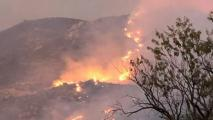 Woodbury Fire Now At 1,400 Acres; Conditions Hampering Containment