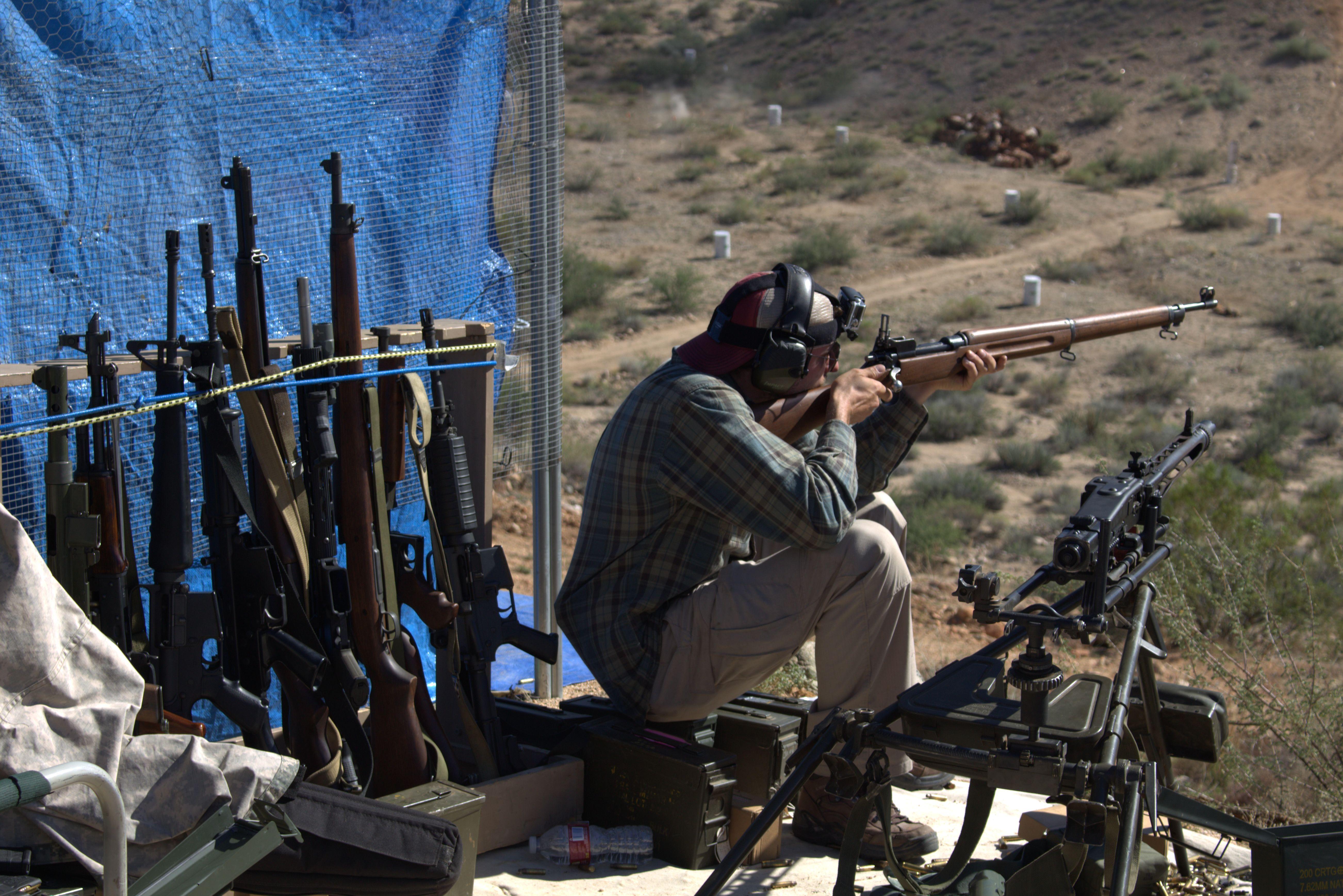 arizona machine gun shoot