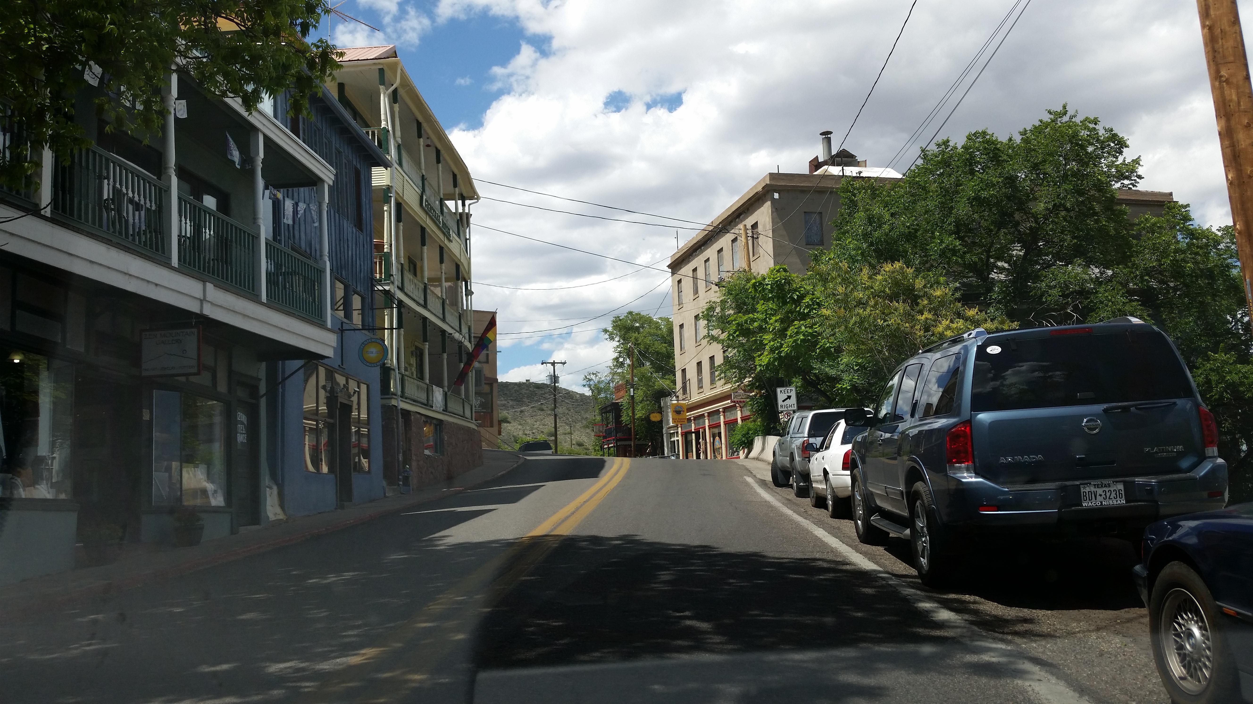 Main Street, Jerome, Arizona