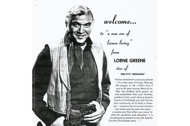 Lorne Greene Ponderosa