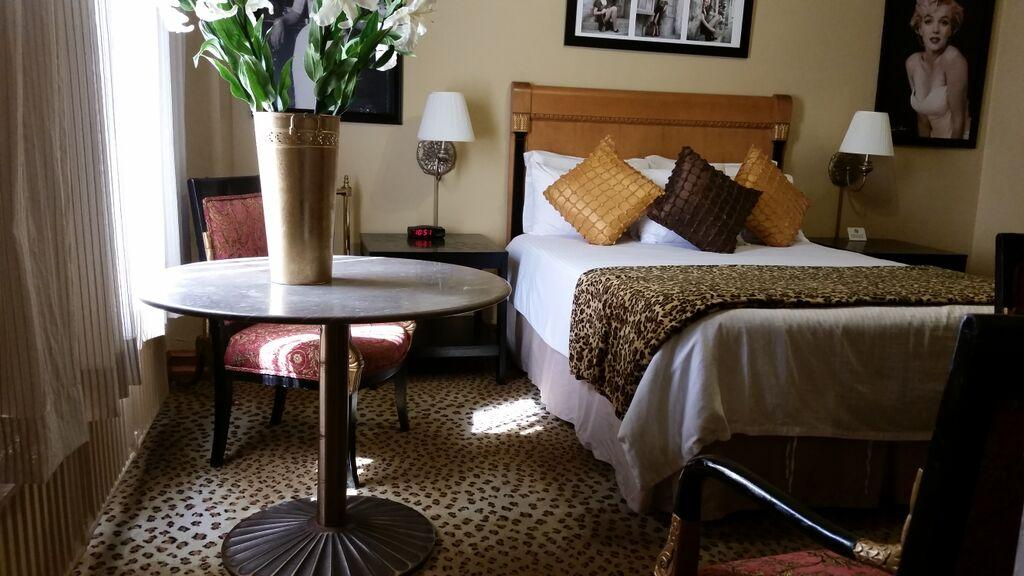 The Marilyn Monroe Suite At The San Carlos Hotel In Downtown Phoenix.  (Photo By Nadine Arroyo Rodriguez   KJZZ)