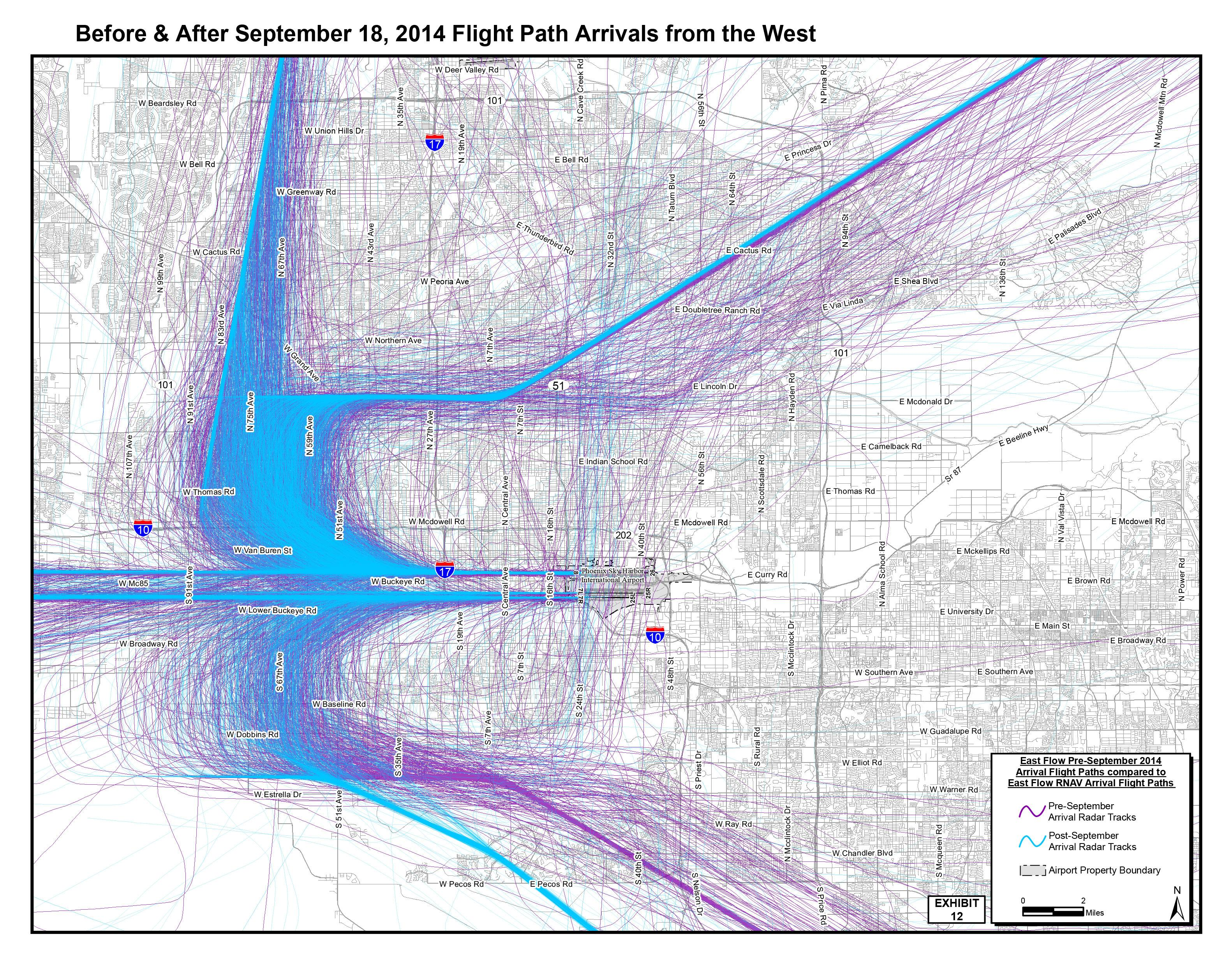 Bothered By Noise From Sky Harbor Flight Path Change? There\'s An App ...