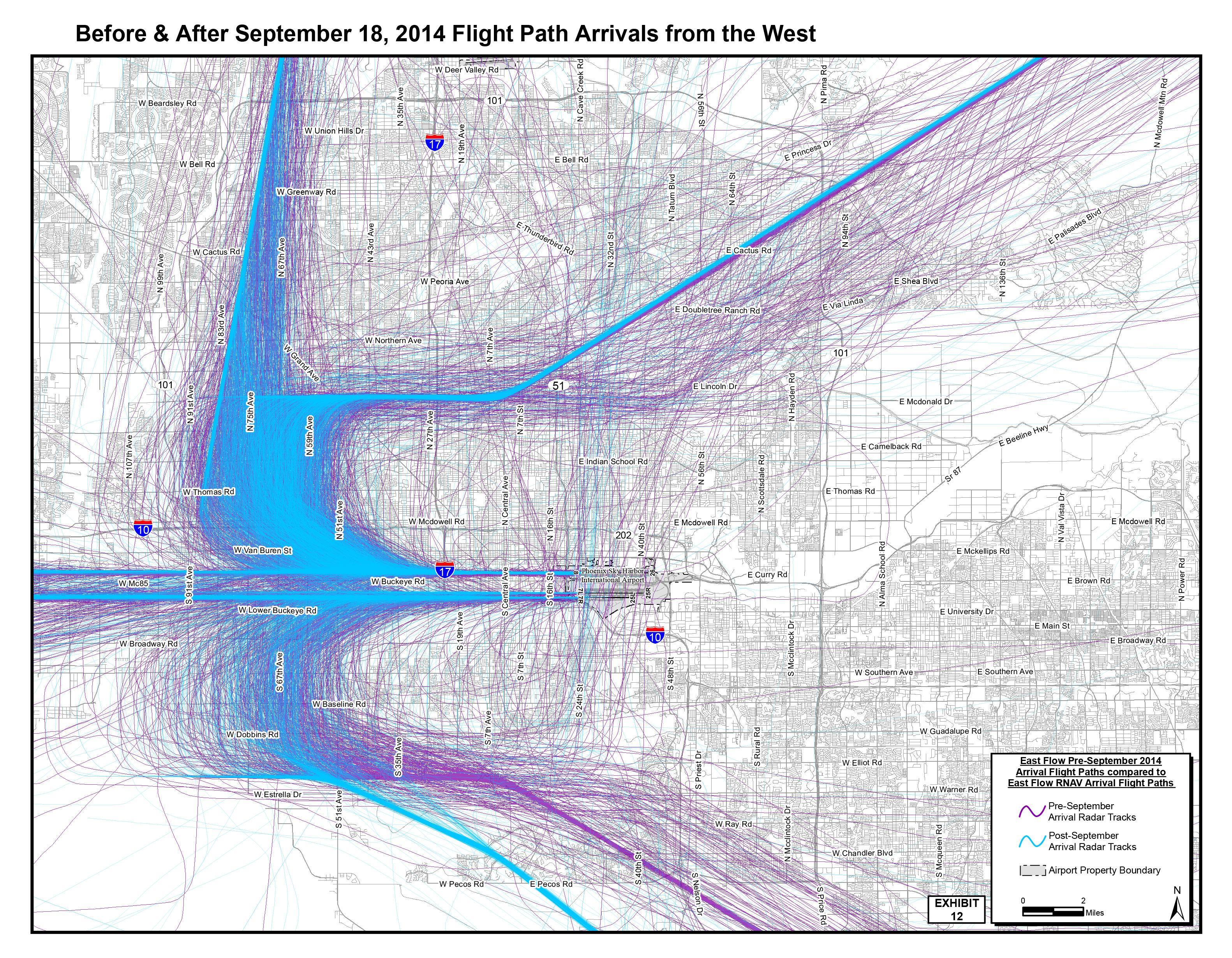 Colleges In Phoenix Az >> Phoenix Suing FAA Over Sky Harbor Airport Flight Paths | KJZZ