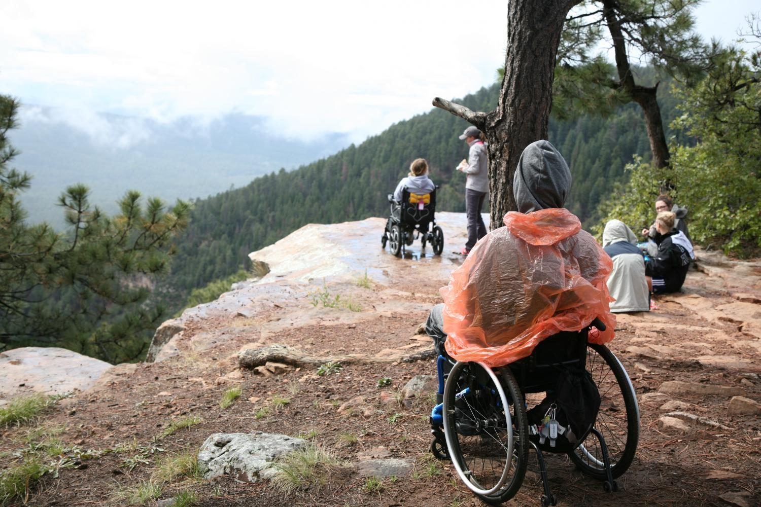 Arizona is one of the only states with a state parks system that has an accessibility coordinator, which means having accessible trails and other wild spaces is a conversation that's constantly happening.