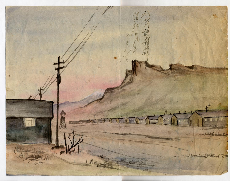 "By ""Jimmy"" Tsutomu Mirikitani/Courtesy Koho Yamamoto/Smithsonian Traveling Exhibition Service"