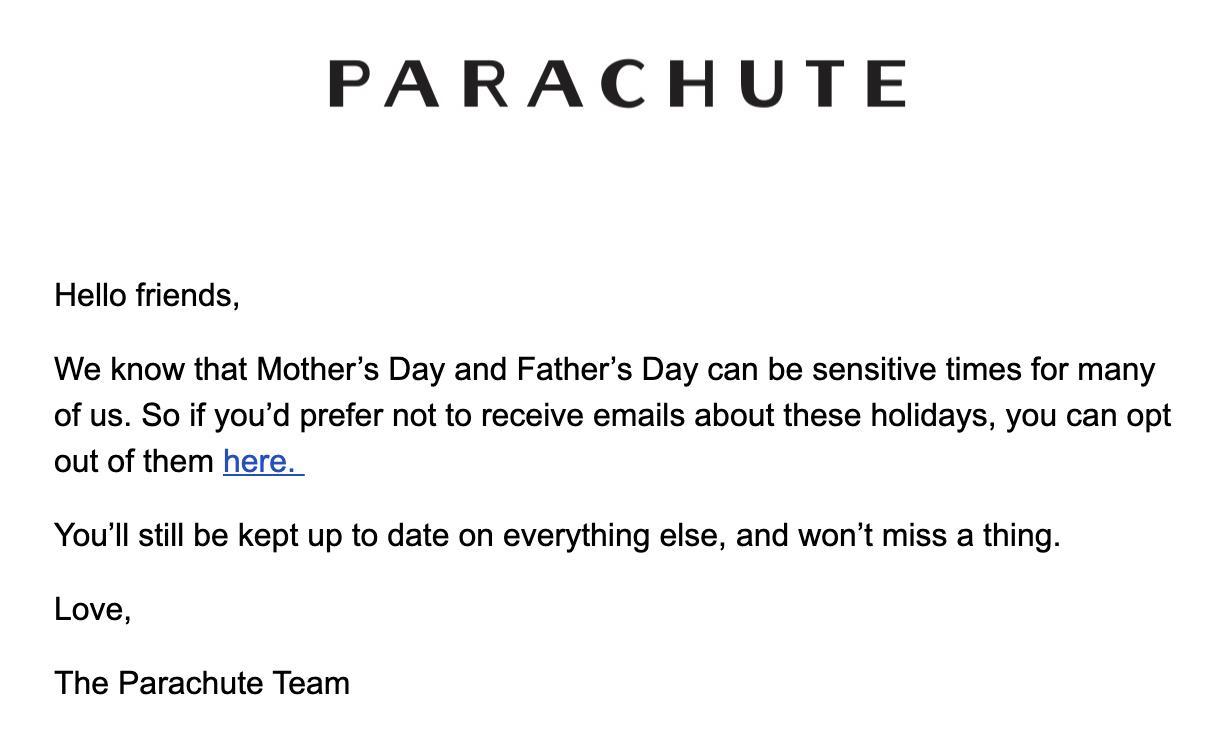 Parachute Home