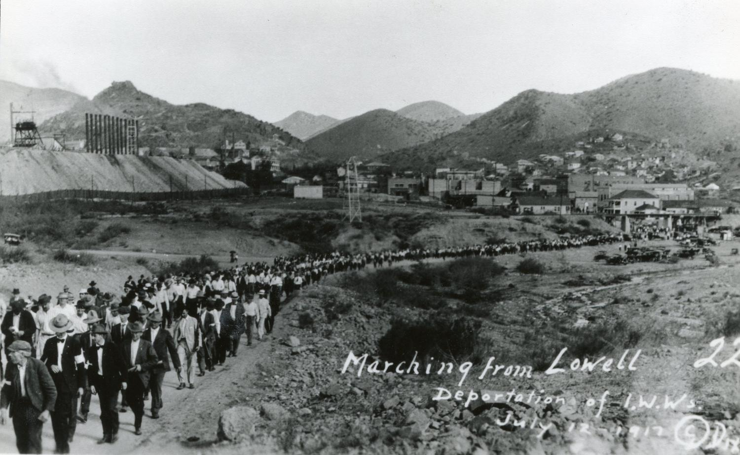 (Photo courtesy of the Bisbee Mining & Historical Museum, a Smithsonian Affiliate)